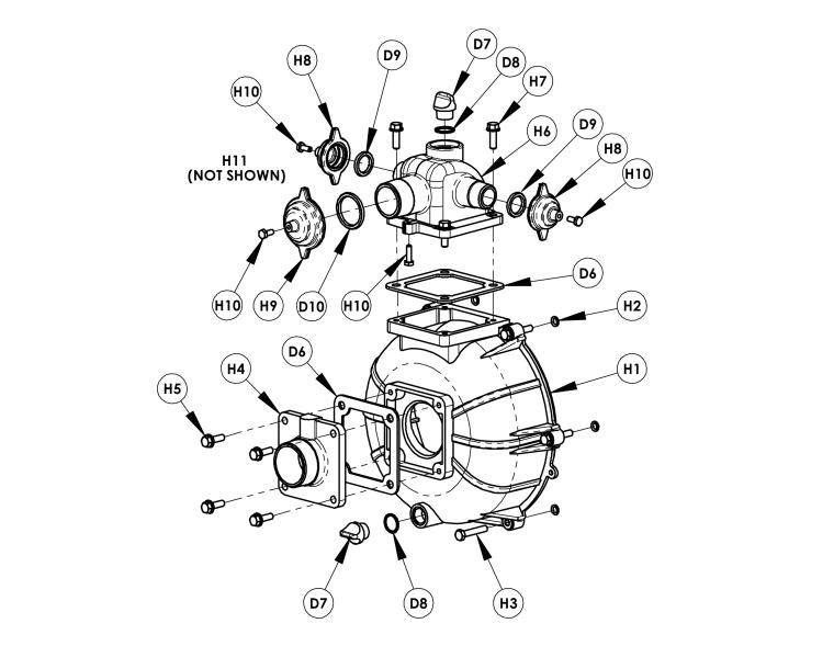 AMT 2MP5HR, High Pressure/Fire Pump With Honda GX160