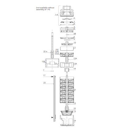 Goulds 10GS15412C, Model 10GS, GS Series, 4 Submersible