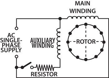 Winding Resistance Of Capacitor Start Motor