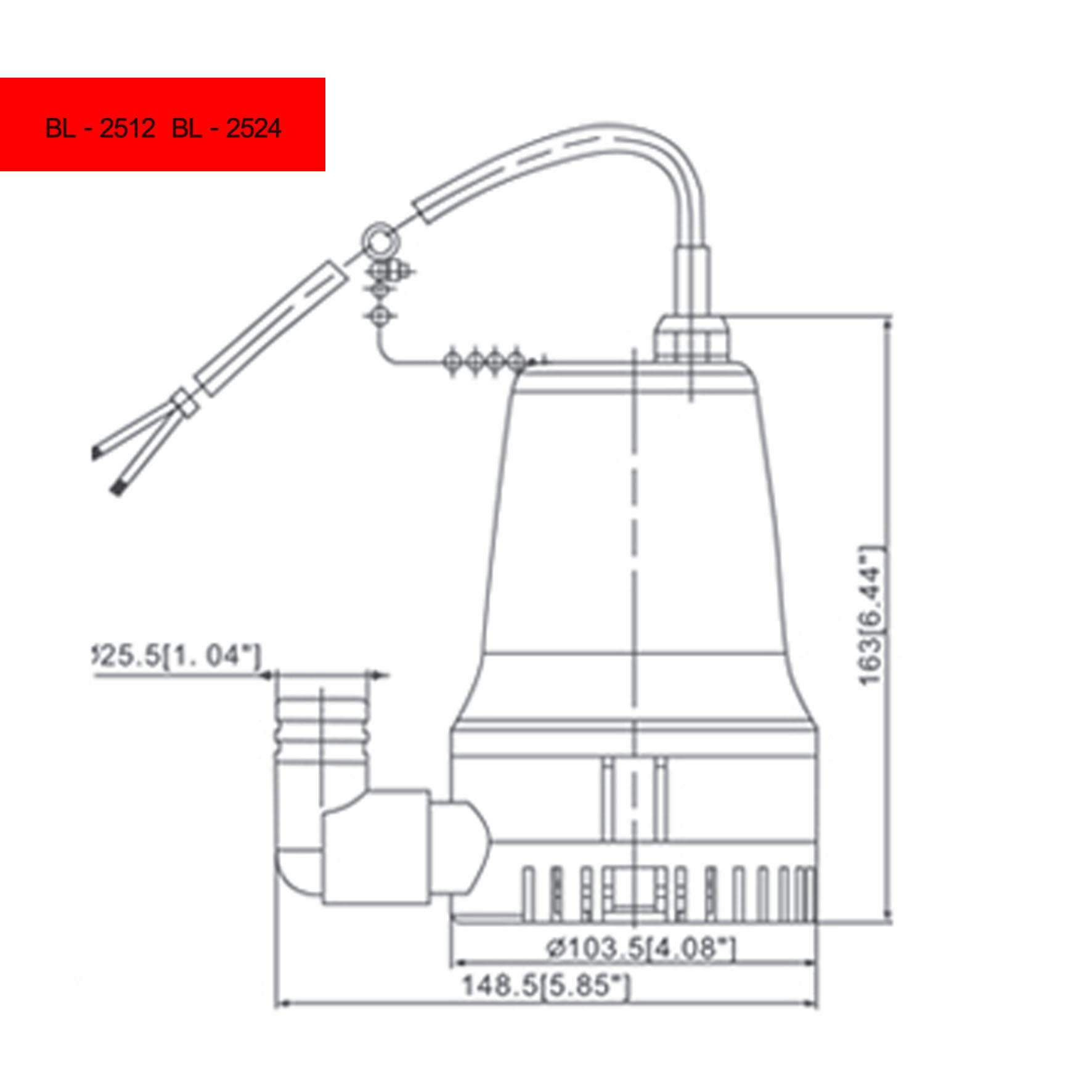 Gph Submersible Dc Pump