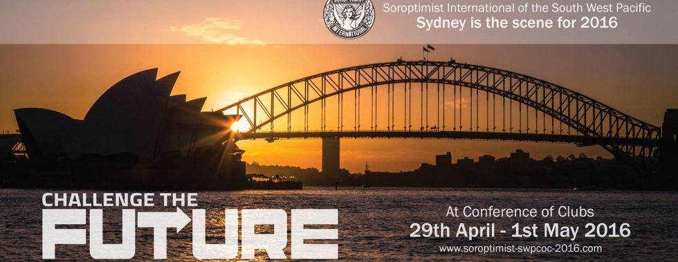 Sydney Harbor Bridge and SI Conference flyer
