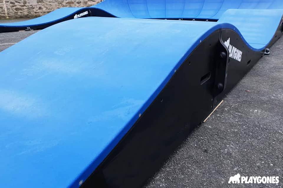 mauges sur loire pump track - Réalisations pumptracks modulaires