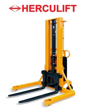 Semi Electric Straddle Leg Stacker - MW series