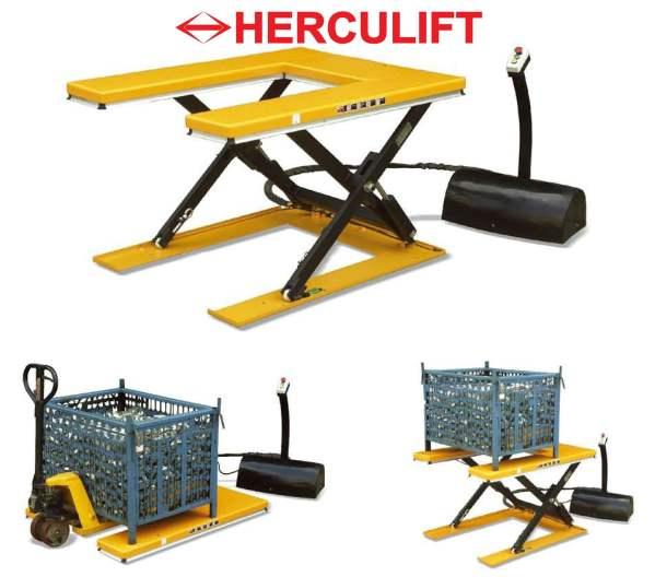 """""""U"""" Low Lift Table - HU series"""