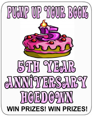 Pump Up Your Book 5 Anniversary