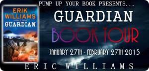 PUYB Blog Tour Promotions: Guardian by Erik Williams
