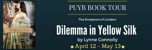 Dilemma in Yellow Silk Book Banner
