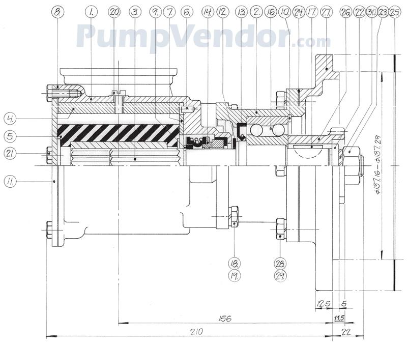Johnson 10-13095-02 Parts List