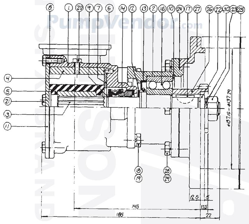 Johnson 10-13096-02 Parts List