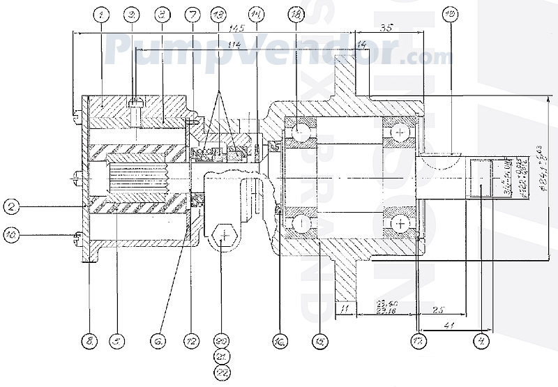 Johnson 10-22335-3 Parts List