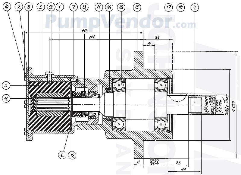 Johnson 10-24017-3 Parts List