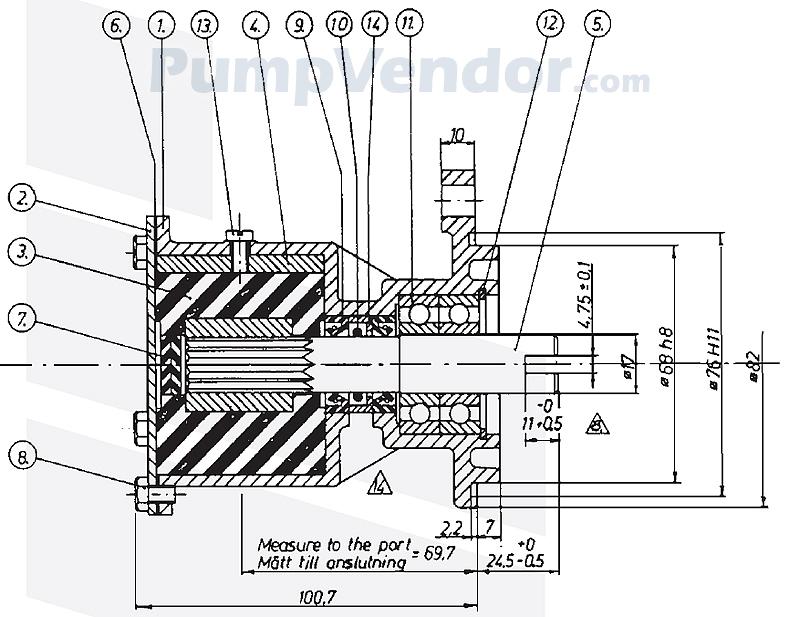 Johnson 10-24061-3 Parts List