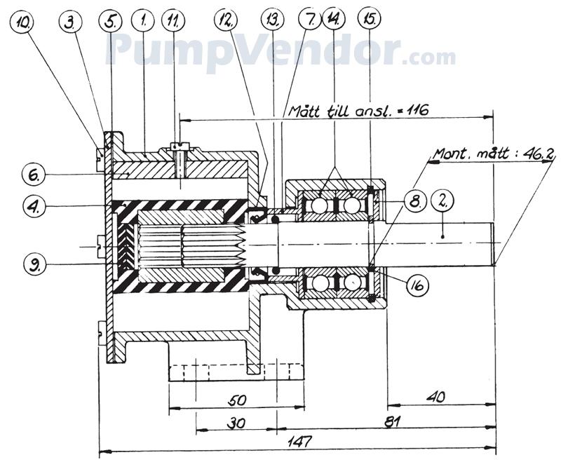 Johnson 10-24070-51 Parts List
