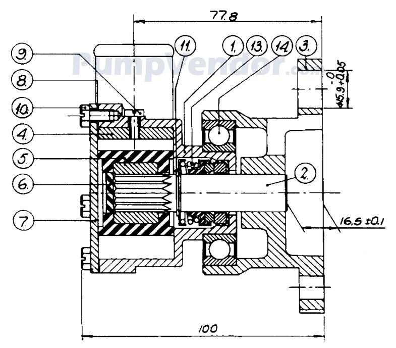 Johnson 10-24076-1 Parts List