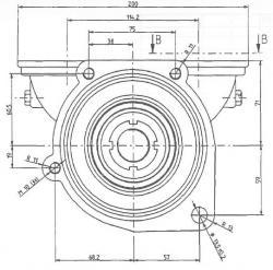 Johnson 10-24430-01 Engine Cooling Pump