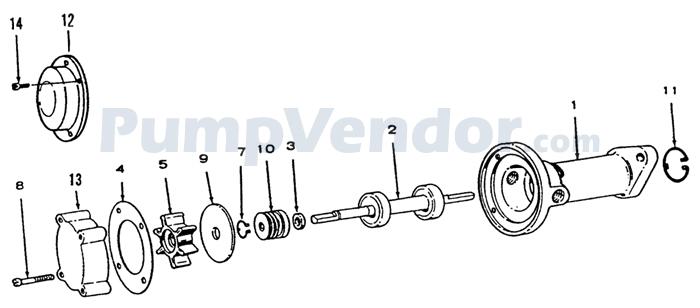 Onan 131-0257 Parts List