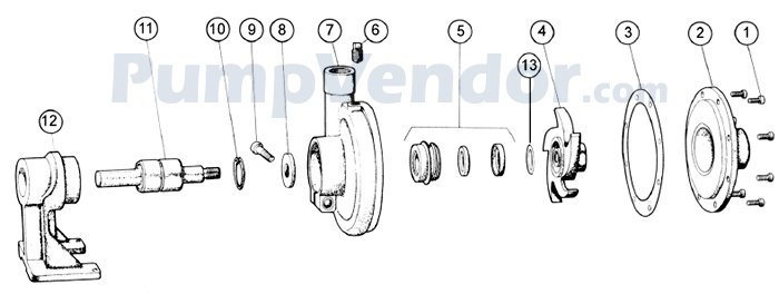 Onan 132-0110 Parts List