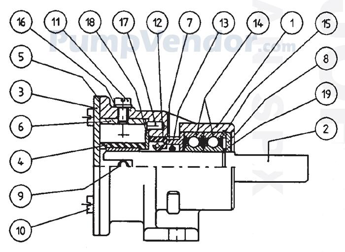 Onan 132-0284 Parts List