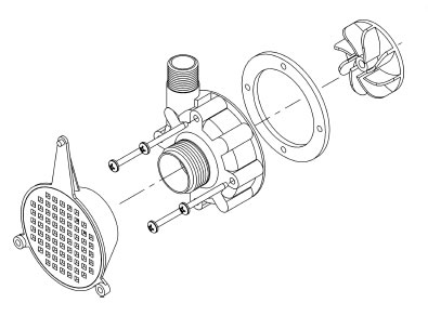 Proven 556706 Discontinued Centrifugal Repair Kit