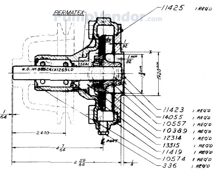 Sherwood D15 D-15 Parts List