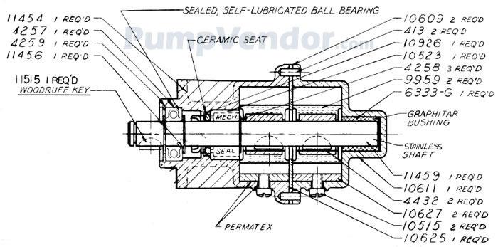 Sherwood D65 D-65 Parts List