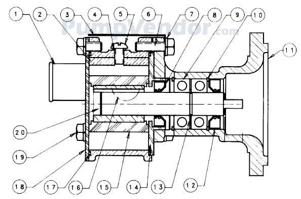 Sherwood G1004 G-1004 Parts List
