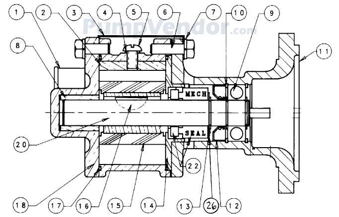Sherwood G1006 G-1006 Parts List