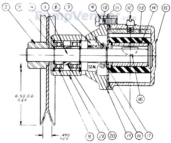 Sherwood G151 G-151 Parts List