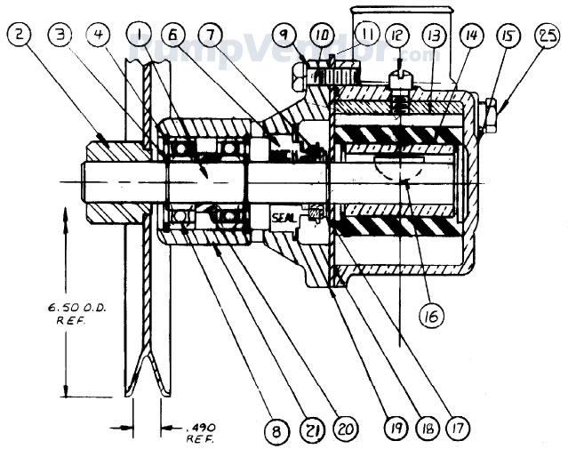 Sherwood G155 G-155 Parts List