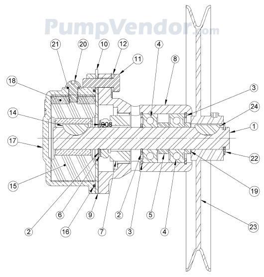 Sherwood G15 G-15 Parts List