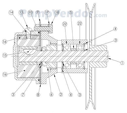 Sherwood G22 G-22 Parts List