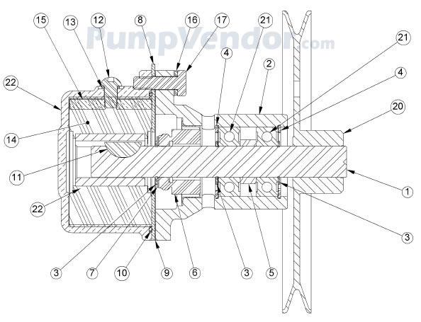 Sherwood G26 G-26 Parts List
