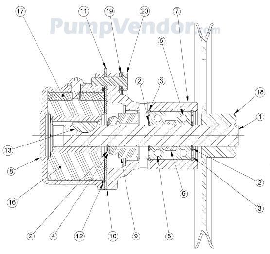 Sherwood G46 G-46 Parts List