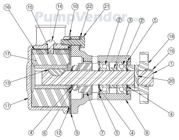 Sherwood G55-2 G-55-2 Parts List