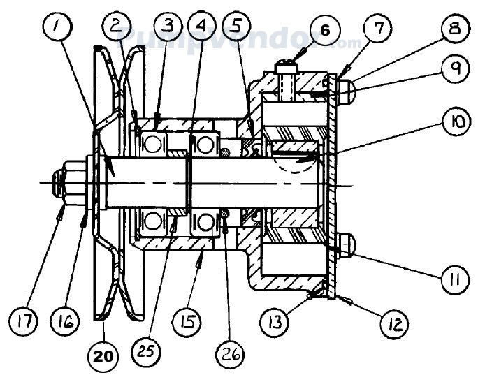 Sherwood G906P G-906P Parts List