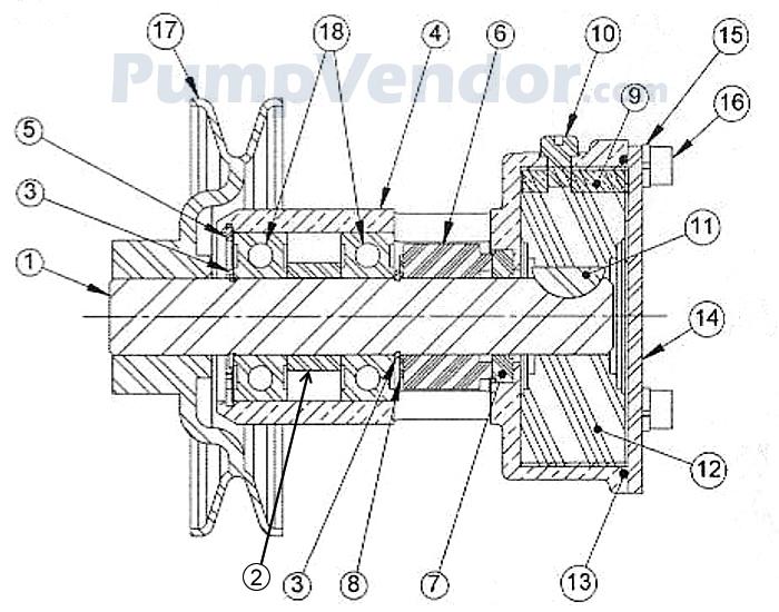 Sherwood G910P G-910P Parts List