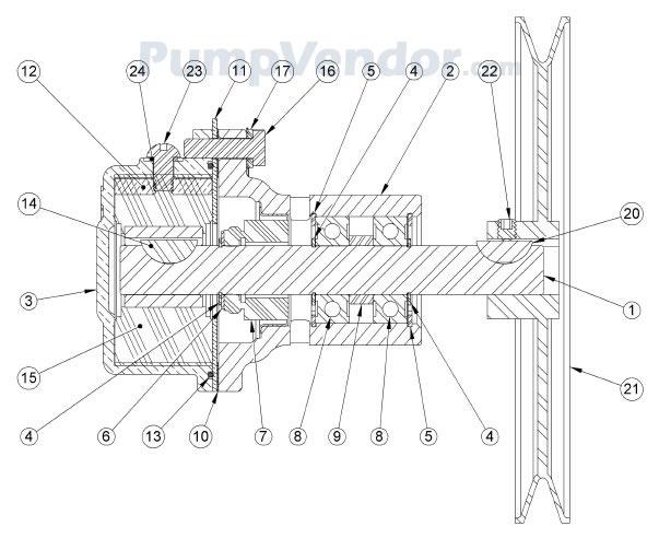 Sherwood J70 J-70 Parts List