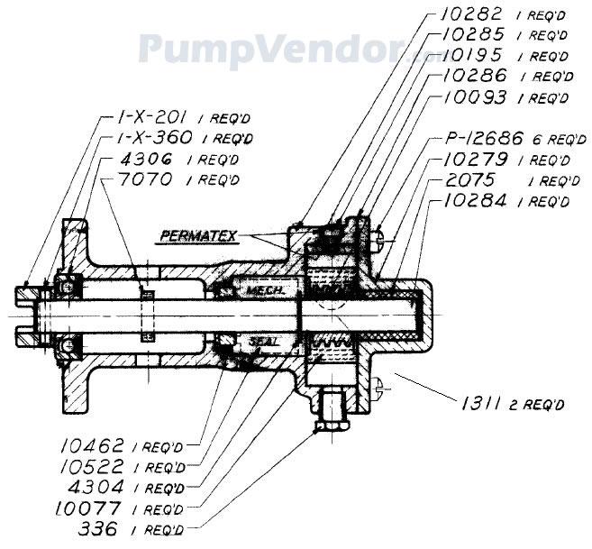 Sherwood M10261G M-10261G Parts List