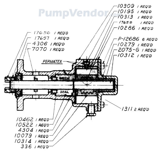 Sherwood M10262G M-10262G Parts List