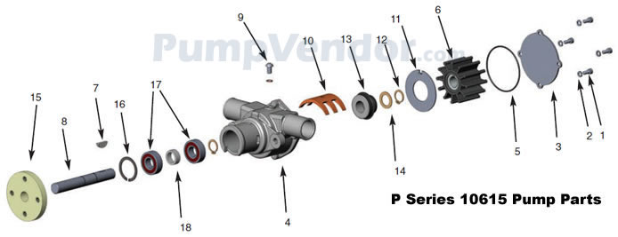 Sherwood P1014 P-1014 Parts List