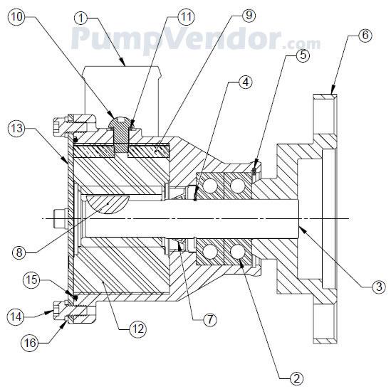 Sherwood P105 P-105 Parts List