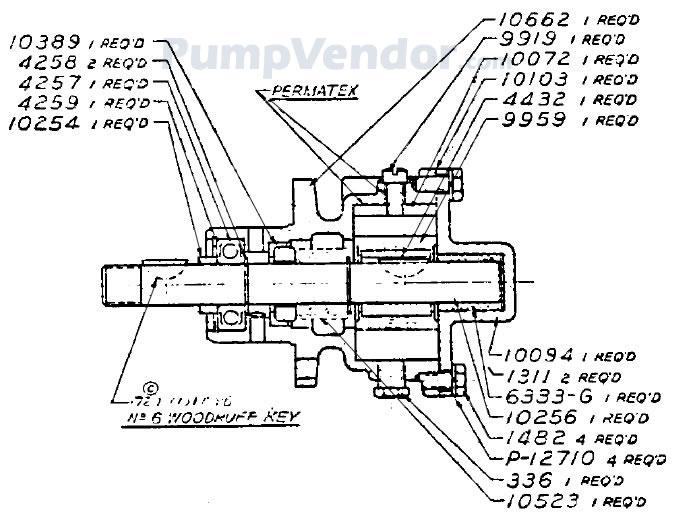 Sherwood P10700G P-10700G Parts List