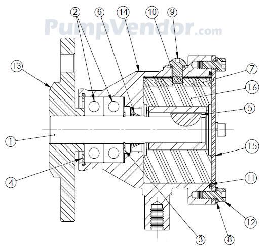 Sherwood P109 P-109 Parts List