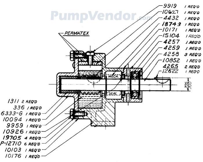 Sherwood R10870-G R-10870-G Parts List