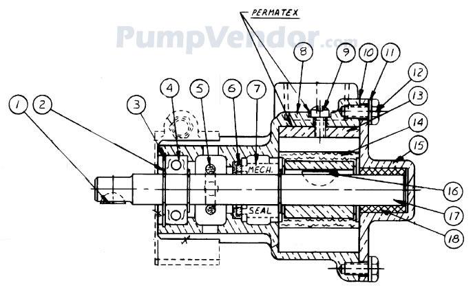Sherwood RPBC RP-B-C Parts List
