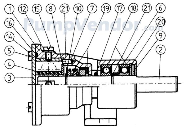 Westerbeke 55624 Parts List