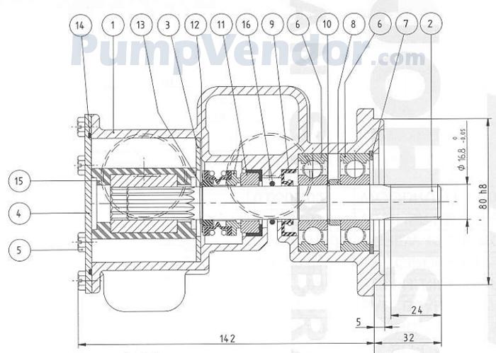 Yanmar 119175-42500-01 Parts List