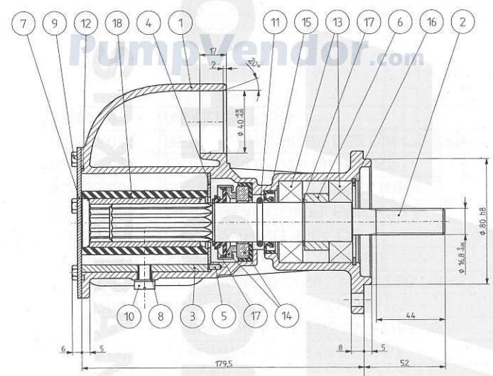 Yanmar 119574-42500 Parts List