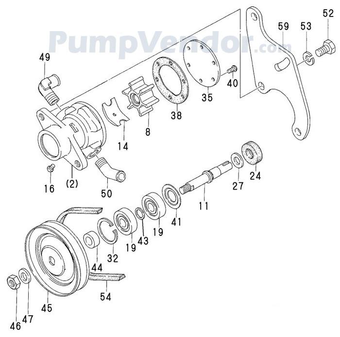 Yanmar 128270-42000 Parts List