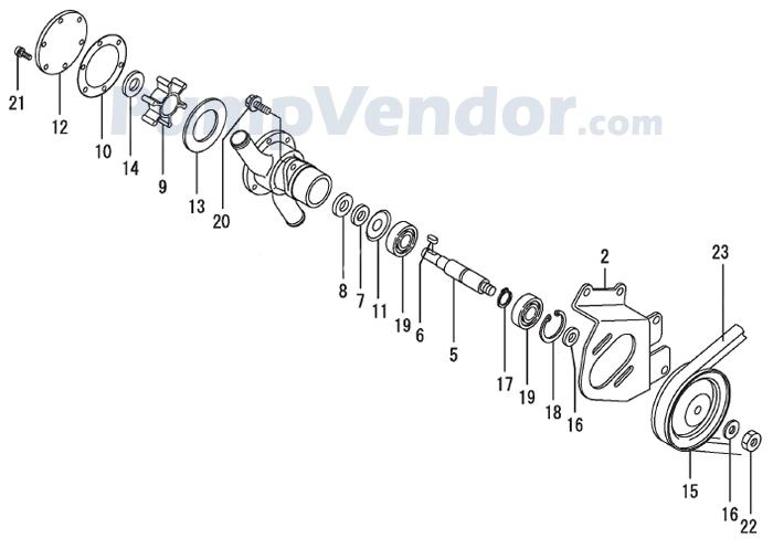 Yanmar 129579-42500 Parts List